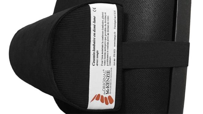Expérience avec des coussins pour le dos
